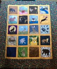 Enter the Dollar Raffle for a chance to win the 2017 Cascabel Community Quilt.