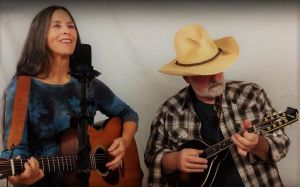 Oracle Ridge Band Ric Volante and Vicky Smith. with bassist Dan Sorenson. Classic country and roots-rock. Listen Here.